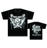 Papa Roach Men's Back Print Tee: Crossbones Drips