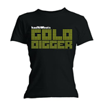 Kanye West Women's Tee: Gold Digger