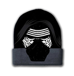STAR WARS VII The Force Awakens Kylo Ren Mask Beanie, One Size, Black/Grey
