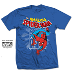 Marvel Comics Men's Tee: Spidey Stamp