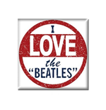 Beatles Magnet - I Love The Beatles