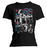 R5 Women's Tee: Grunge Collage