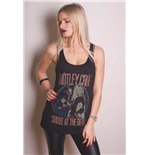 Motley Crue Women's Vest Tee: Shout at the Devil
