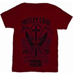 Motley Crue Men's Tee: Final Tour