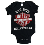 Motley Crue Baby Grow: Bad Boys Shield