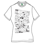 Moomins Women's Tee: Moomin Falls In Love Comic Strip