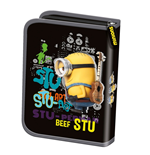 Minions (P) pencil case one decker unfilled black