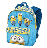 Minions (P) backpack small blue