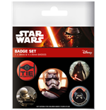 Star Wars Episode VII Pin Badges 5-Pack First Order