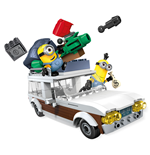 Minions Mega Bloks Construction Set Station Wagon Getaway