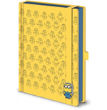 Minions Premium Notebook A5 Pattern