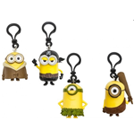Minions Character Keychain with PVC Clip