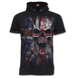 Union Wrath - Fine Cotton T-shirt Hoody Black