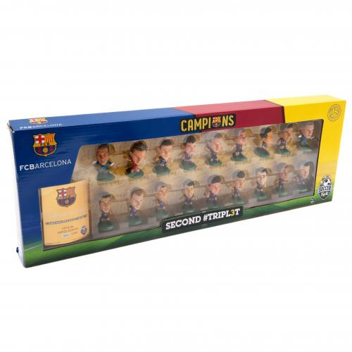 F.C. Barcelona SoccerStarz Treble Winners Team Pack A