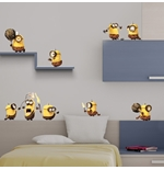Minions Wall Sticker Prehistory