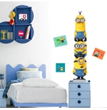 Minions Wall Sticker Trio