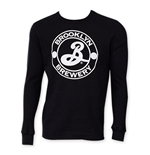 BROOKLYN BREWERY Men's Black Long Sleeve Thermal