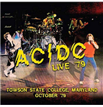 Vynil Ac/Dc - Live '79 - Towson State College, Maryland October '79 (2 Lp) 180gr