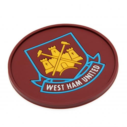 West Ham United F.C. Silicone Coaster