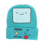 ADVENTURE TIME Unisex Beemo Video Game Console Cuffed Beanie, One Size, Turquoise