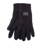 JACK DANIEL'S Unisex Old No.7 Brand Patch Gloves, One Size, Dark Grey