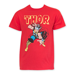 THOR Men's Classic Red Tee Shirt