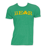 ST. PATRICK'S DAY Men's Green Beer Tee Shirt