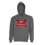 MILLER HIGH LIFE Men's Classic Grey Hoodie