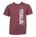 YUENGLING Brick Red Vertical Logo Tee Shirt