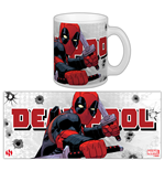 Marvel Comics Mug Deadpool Katana Rama