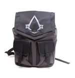 ASSASSIN'S CREED Syndicate Unisex Grey Brotherhood Crest Backpack, One Size, Grey/Black