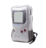NINTENDO Original Unisex Gameboy Video Game Console Backpack, One Size, Grey