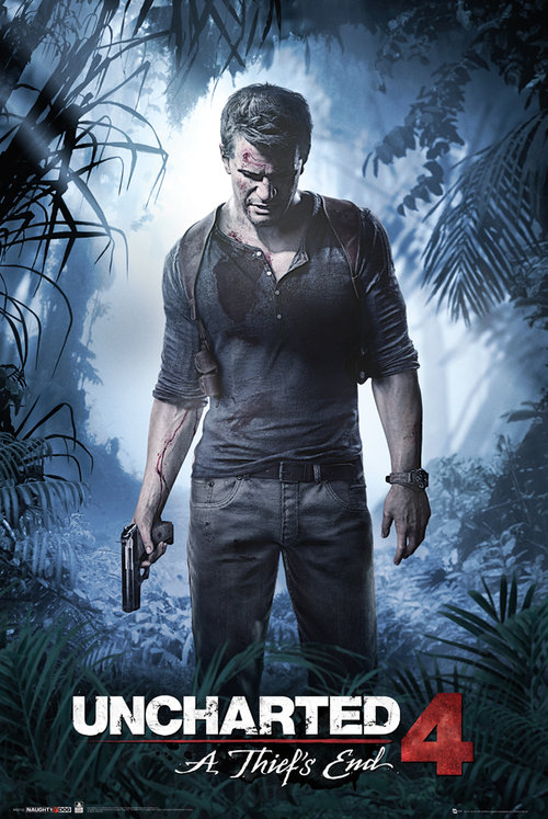 Uncharted 4 A Thiefs End Maxi Poster