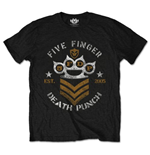 Five Finger Death Punch Men's Tee: Chevron