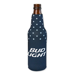 BUD LIGHT Stars Bottle Koozie