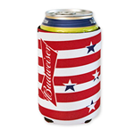 BUDWEISER Stars And Stripes Can Koozie