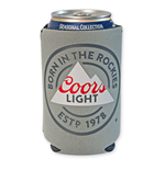 COORS Light Grey Koozie