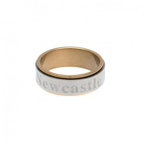 Newcastle United F.C. Bi Colour Spinner Ring XX-Large