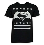 BATMAN V SUPERMAN White Dot Logo Tee Shirt