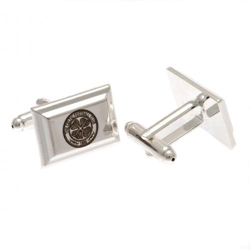Celtic F.C. Silver Plated Cufflinks