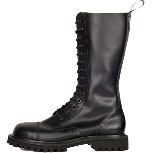 Mode Wichtig 14-Eye Steel Boots Leather