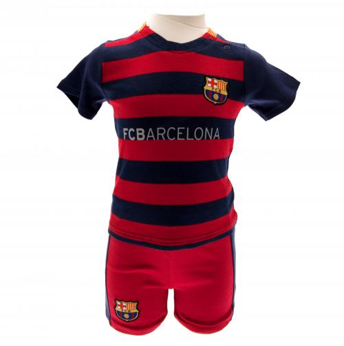 F.C. Barcelona Shirt & Short Set 9/12 mths