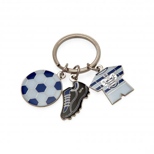 Queens Park Rangers F.C. 3 Charm Keyring
