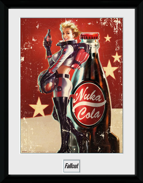 Fallout 4 Nuka Cola Framed Collector Print