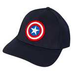 CAPTAIN AMERICA logo Flex Fit Hat