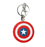 CAPTAIN AMERICA Logo Bendable Keychain