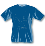 The Little Prince T-Shirt Dark Blue Icon