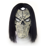 DARKSIDERS 2 Unisex Death Character Face Cosplay Latex Mask, One Size, Mulit-Colour