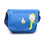 FALLOUT 4 Unisex Vault Boy Thumbs Up Cover Messenger Bag, One Size, Blue