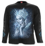 Ice Queen - Longsleeve T-Shirt Black